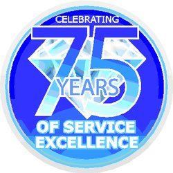 75 Years Of Service Excellence